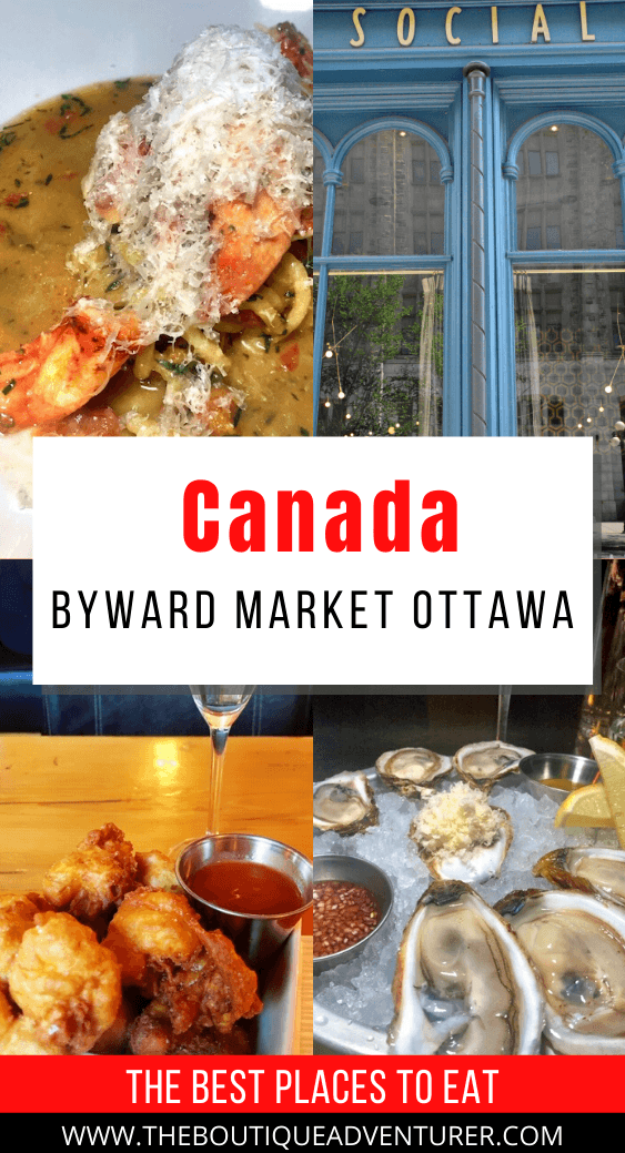 Looking for some of the best Ottawa restaurants? Some of the best places to eat in Ottawa are in the Byward Market area. From Mexican food to steak to burgers to dim sims – and of course beaver trails! #restaurantottawa #bestottawarestaurants