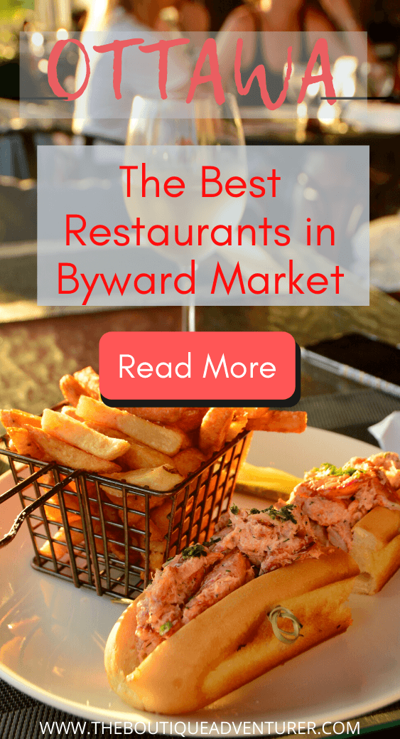 Looking to explore the restaurants of Byward Market? Here is my post on 15 of the best places to eat in Byward Market Ottawa for Mexican food, steak, dim sum, burgers and of course beaver tails! #bywardmarketottawa #bywardmarketrestaurants