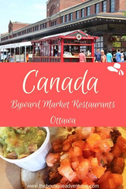 Ottawa is a fantastic foodie city! Byward Market Restaurants are some of the best on offer in Ottawa. Read my curated suggestions plus more Top Ottawa Food Tips! #canada #ottawa