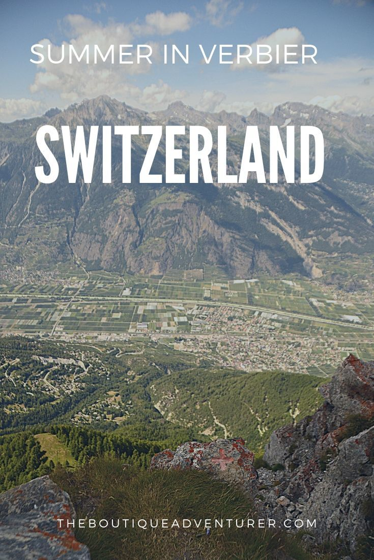Trying to work out where to go in summer in Switzerland? Here are 20 reasons why you must head to Verbier in from amazing views to great food to boutique hotels & great value! #switzerland
