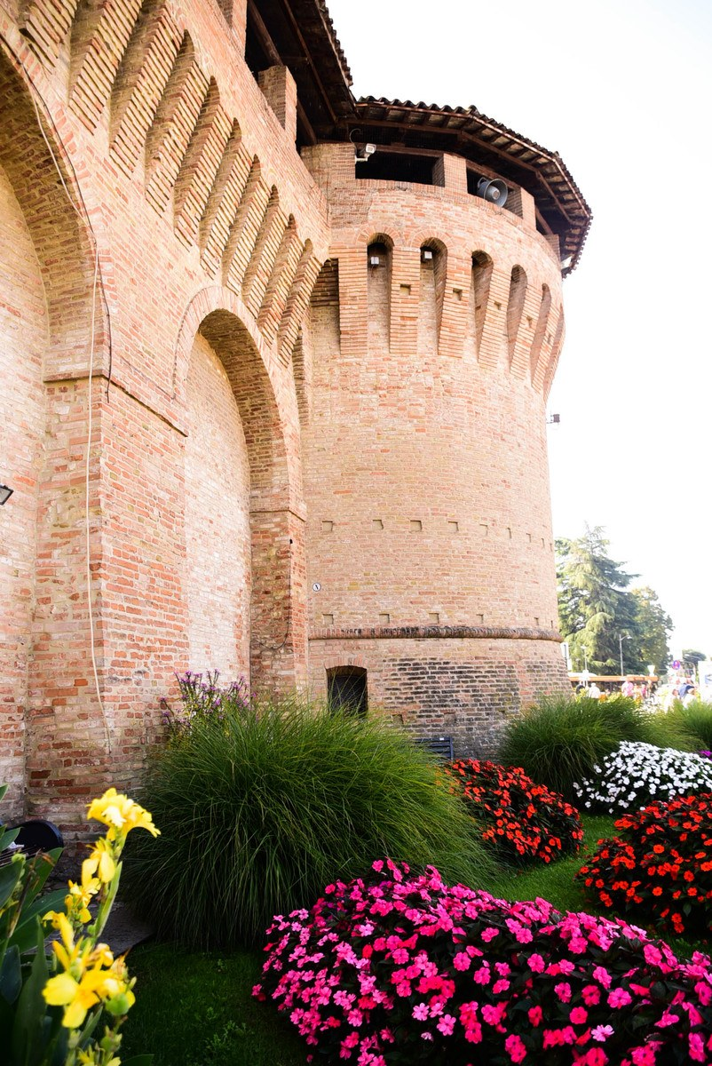 Italy_Forlimpopoli_turret-with-flowers