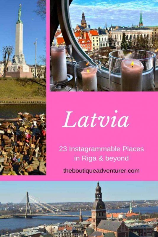 3 images of riga latvia
