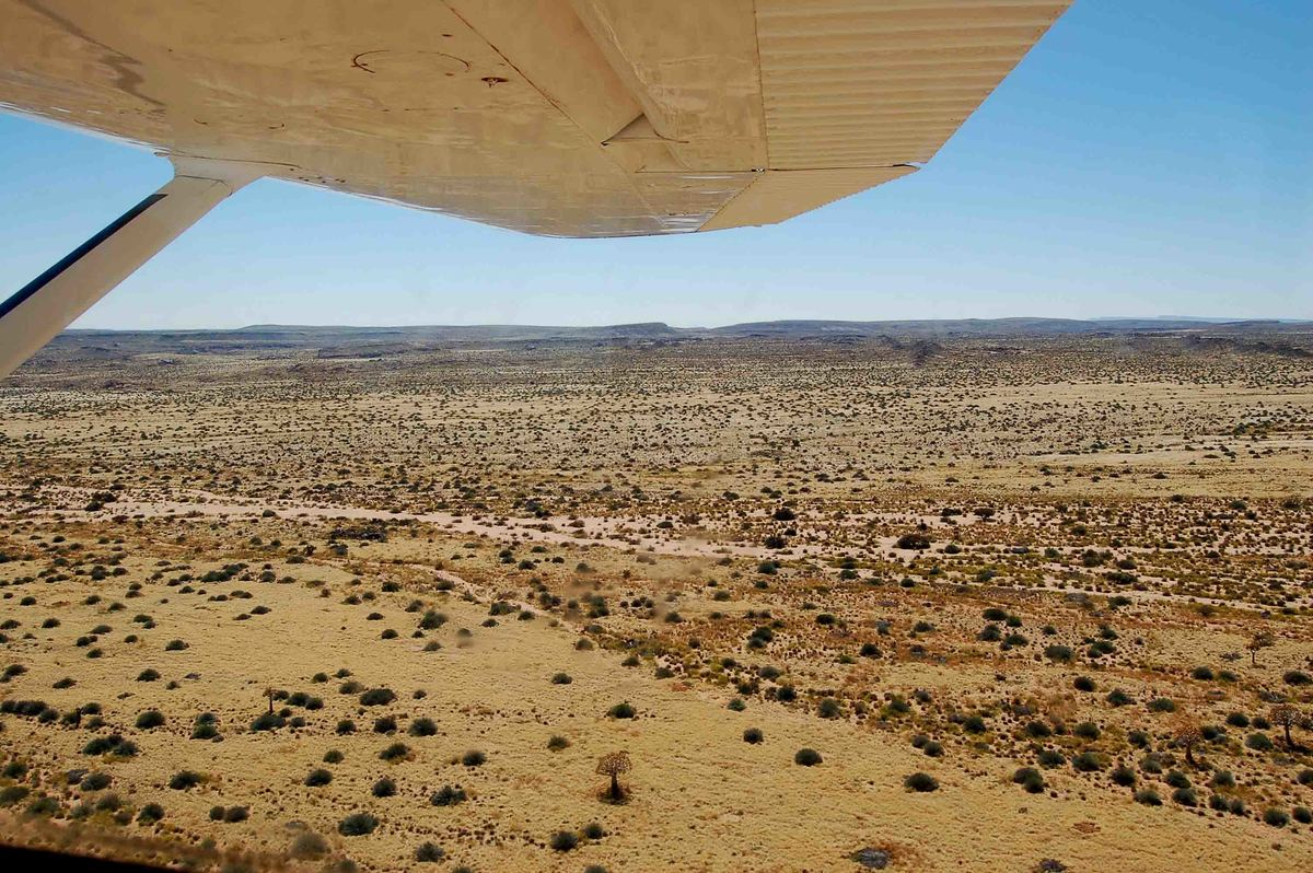 Namibia_fish-river-canyon-view-from-plane