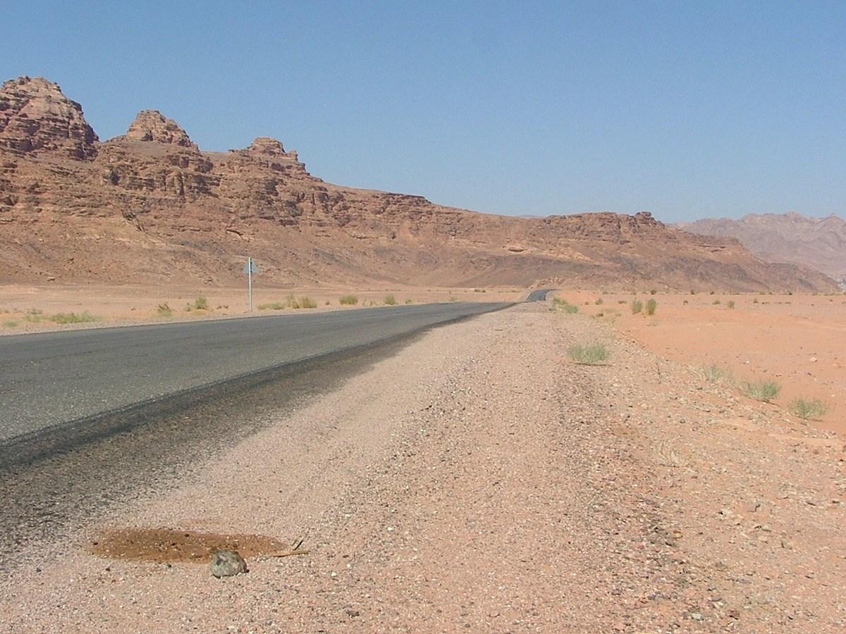 jordan-road-against-desert