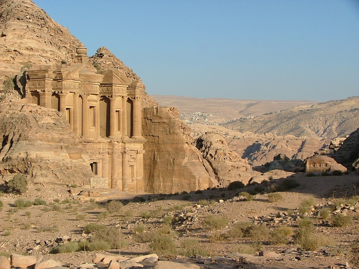 Jordan-petra-monastery-from-a-distance