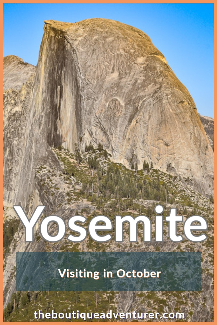 Planning a trip to Yosemite in October? Great idea! Here are 16 things to do in & near Yosemite that are especially good in October - bring on the fall colors! #yosemite