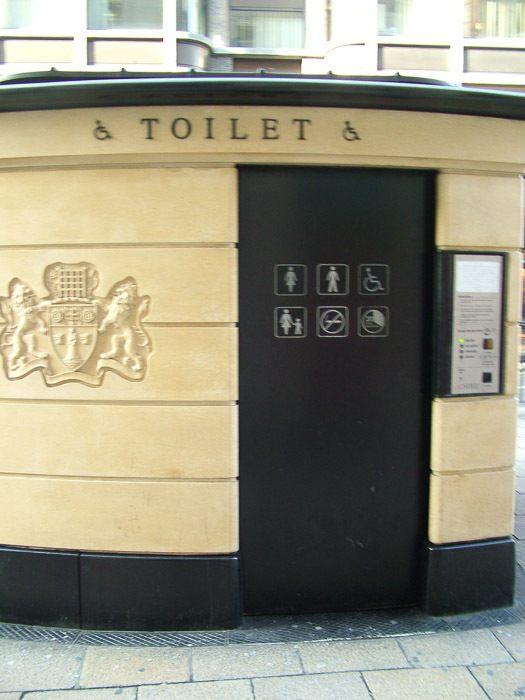 London public toilet