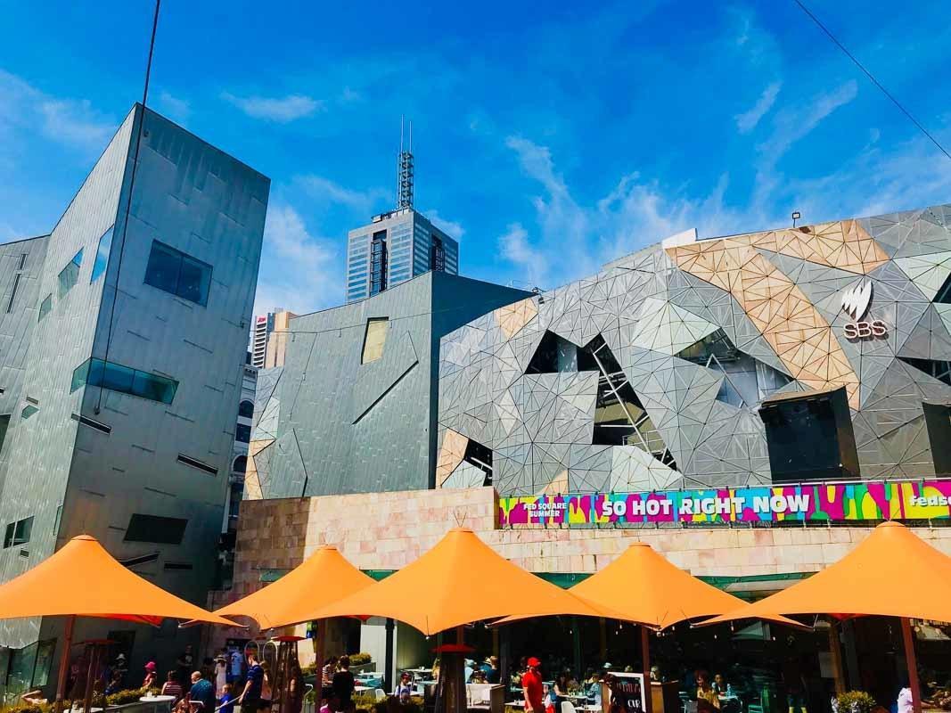 Exterior of Federation Square