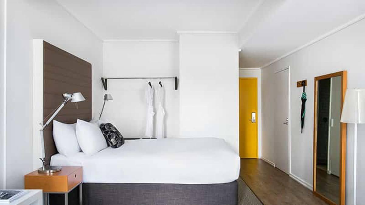 Bedroom in Ovolo Landeways hotel