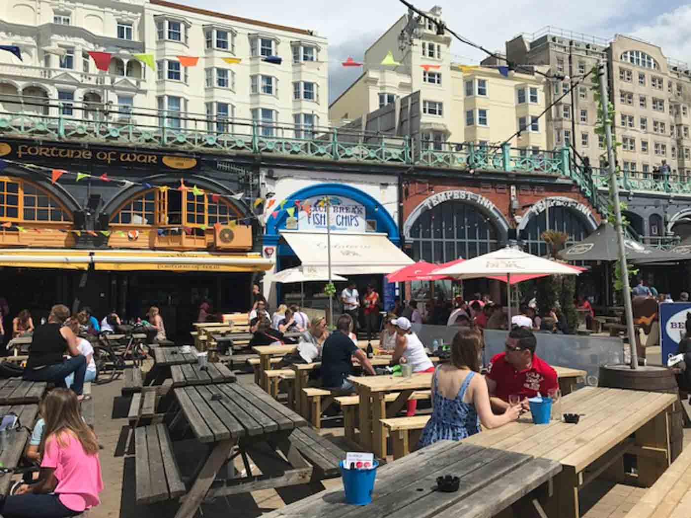Pubs on the brighton seafront