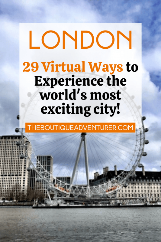 London Eye and Southbank London England