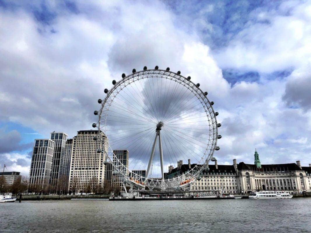 London - London Eye and south bank during London Lockdown.jpg