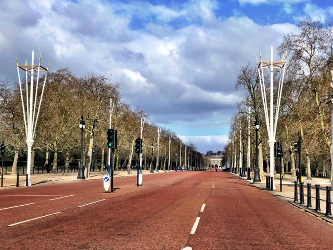 London - The Mall during London Lockdown 2-2.jpg