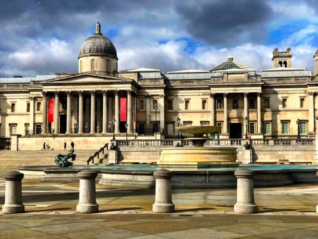 London - Trafalgar Square during London Lockdown 2-2.jpg