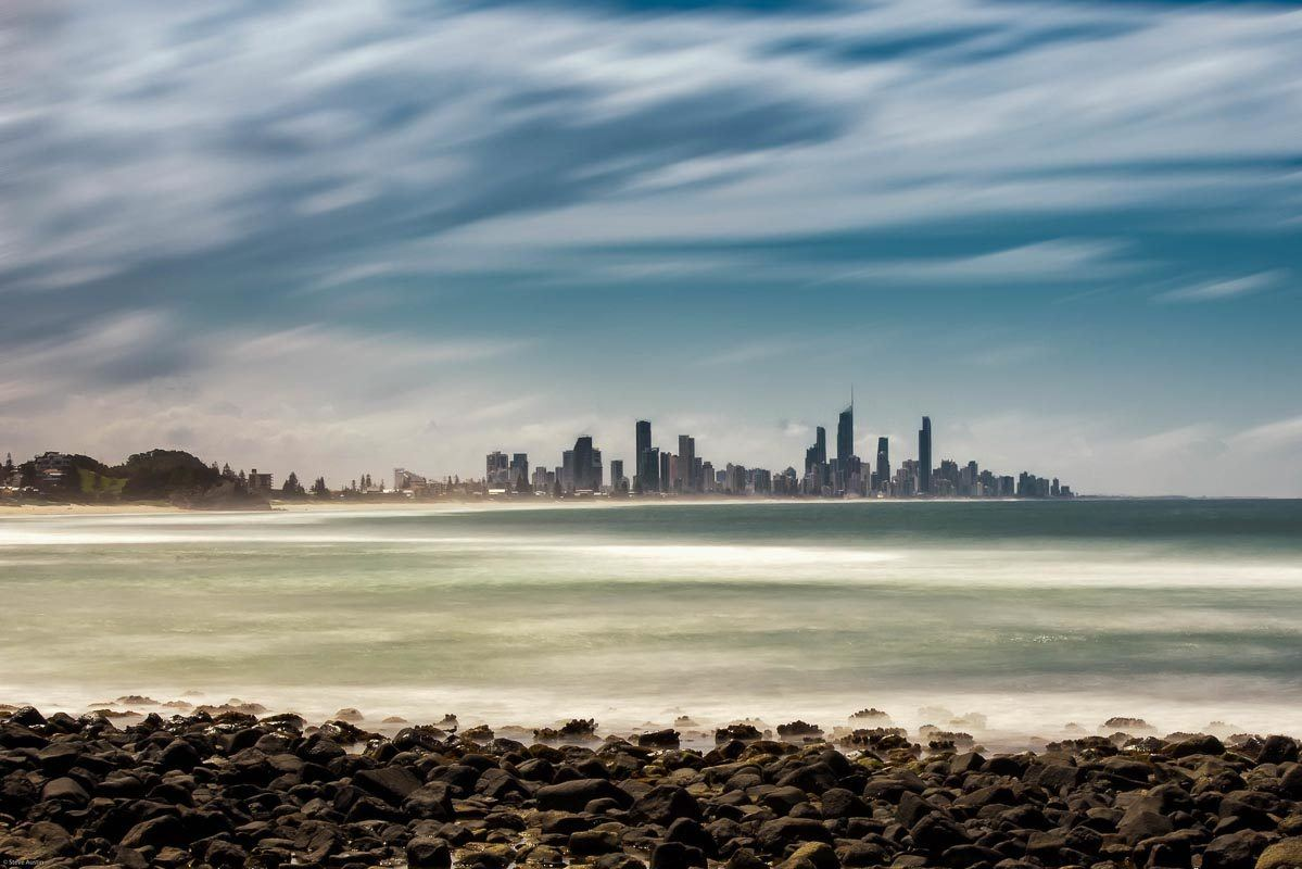 Gold Coast from Burleigh Heads