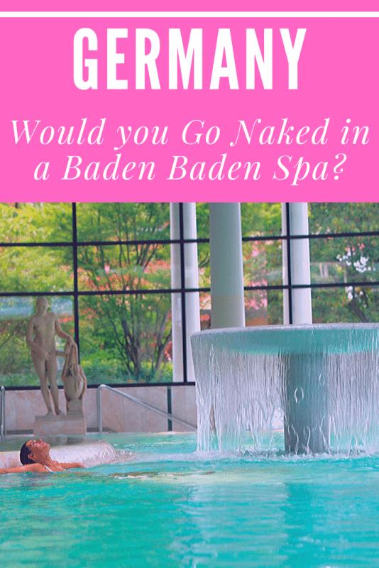 spa pool in baden baden germany
