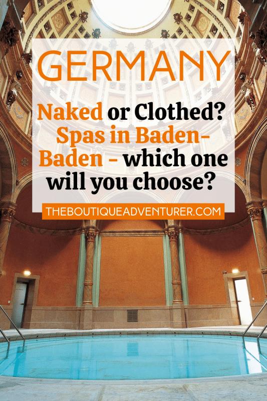 Inside Friedrichsbad spa baden baden germany