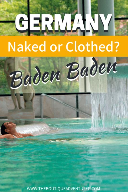 pool inside Caracella spa baden baden germany