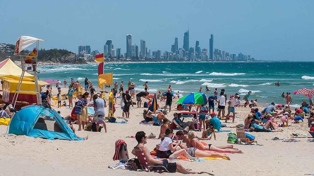 Burleigh Heads Beach Gold Coast Queensland