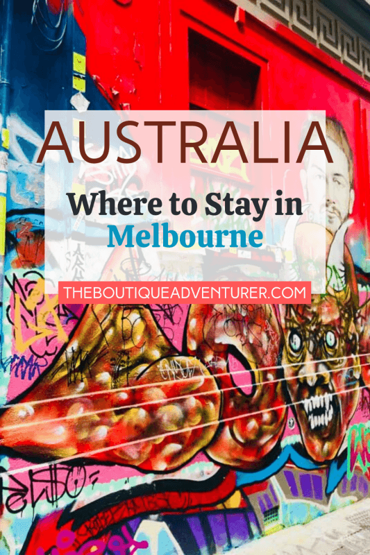 Melbourne Street Art - Fitzroy is one of Melbourne's most eclectic and interesting suburbs and it sits next to Carlton, definitely one of Melbourne's loveliest inner-city suburbs. Both are great places to stay when you go to Melbourne. #melbournethingstodoin#melbournefitzroy