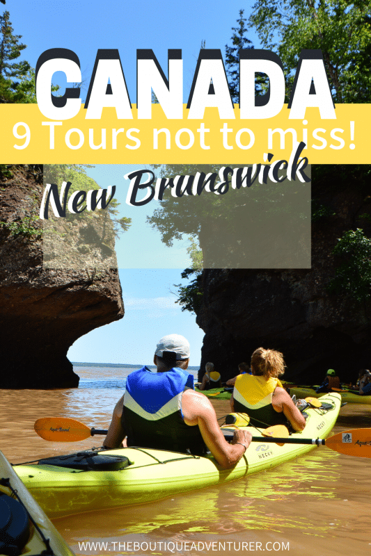 kayaks on hopewell rocks new brunswick canada