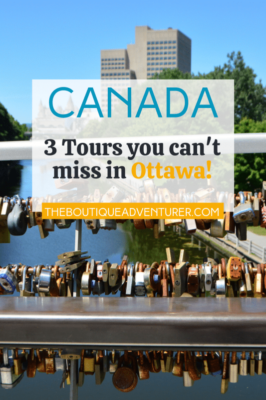 locks on bridge over the rideau canal in ottawa canada