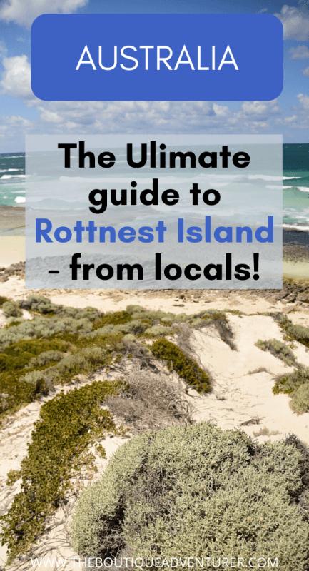 waves and sand rottnest island beach perth australia