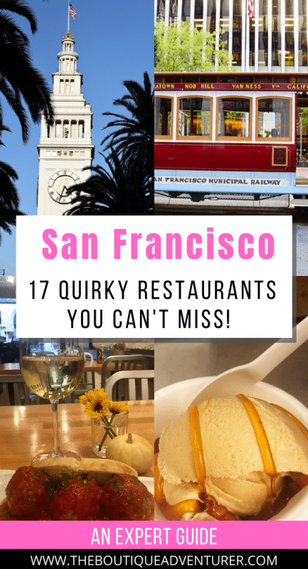 images of san francisco - tram, ferry building, ice cream and meatballs