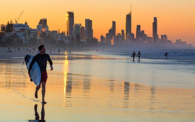 Gold Coast Sunset