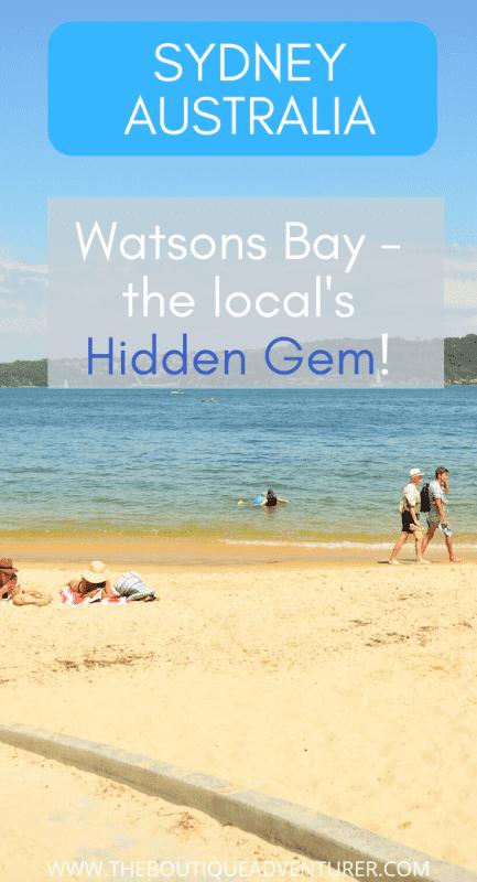 watsons bay beach sydney australia