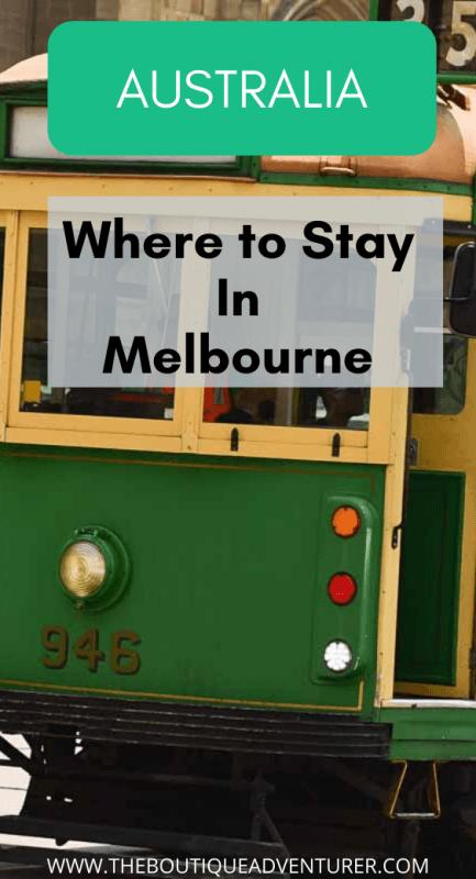Front of Melbourne tram