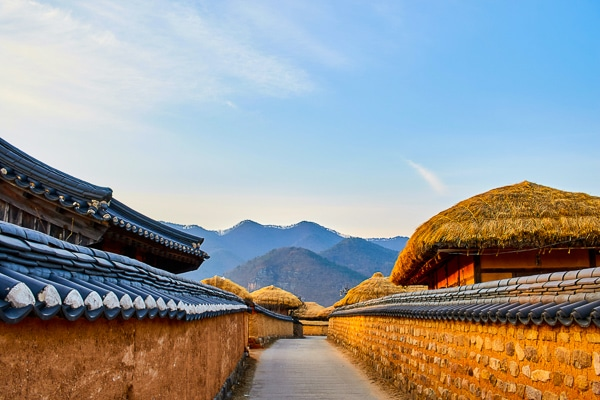 Andong one of the beautiful places in South Korea
