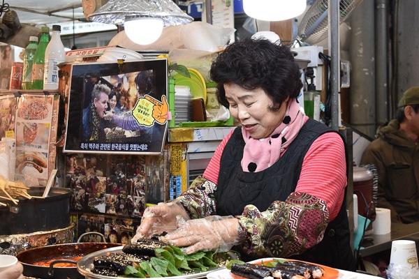 Gwangjang Market seoul korea