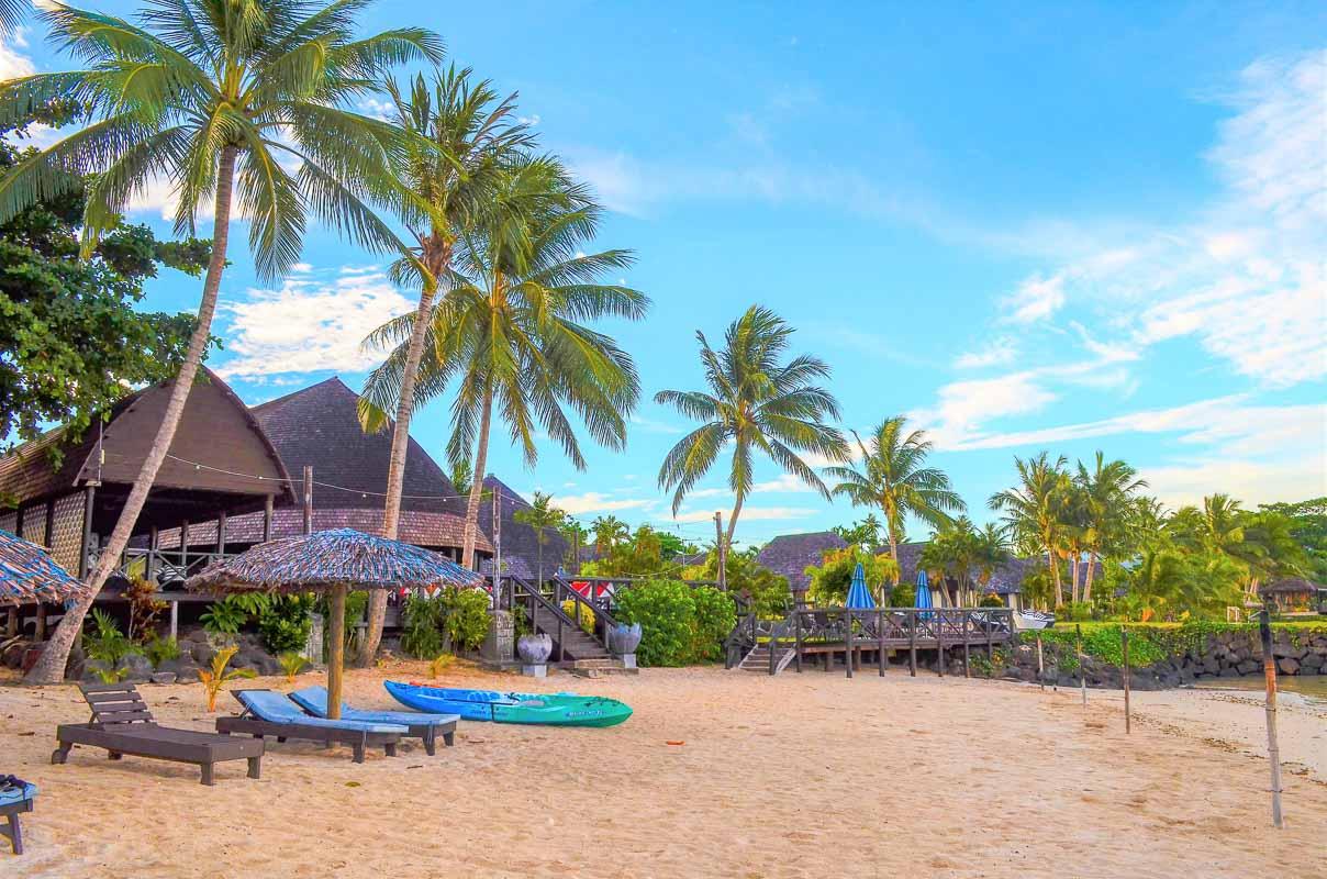 Le Lagoto Beach Samoa