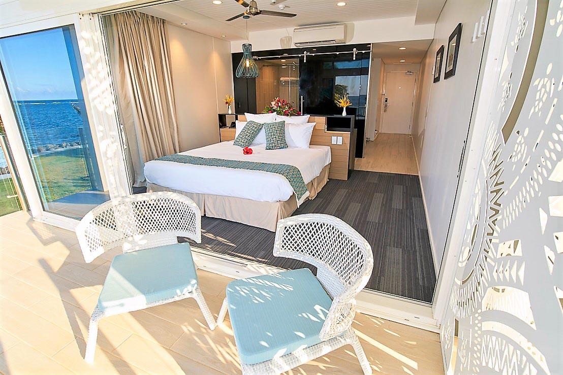 Taumeasina Island Resort room samoa
