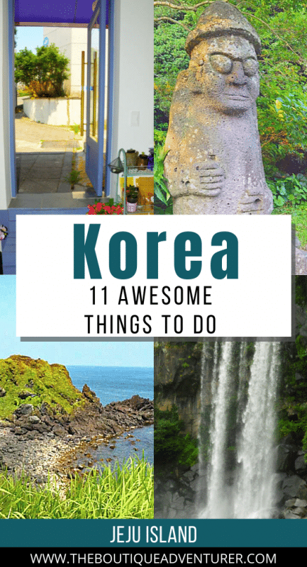 different images from jeju island south korea