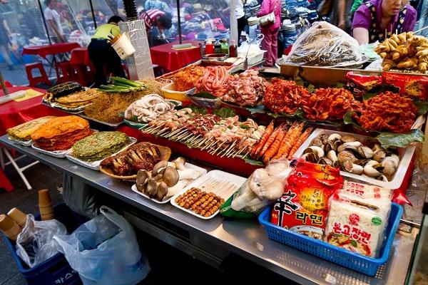 namdaemun-market seoul korea