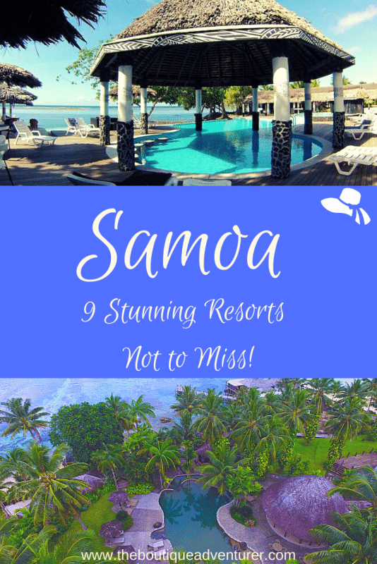 images of resorts in Samoa