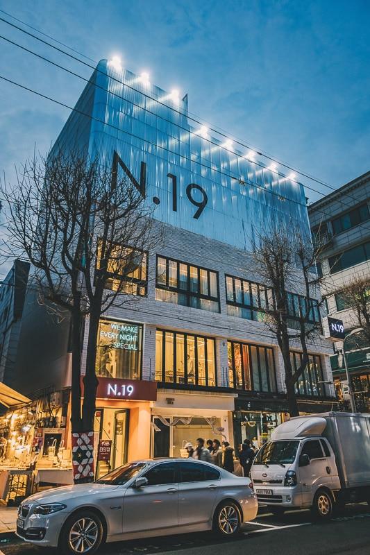 Shop in Gangnam District Seoul Korea