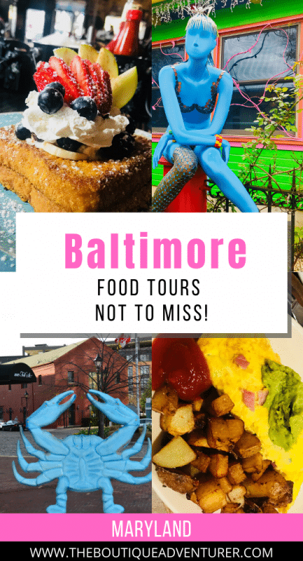 colourful food images of baltimore maryland