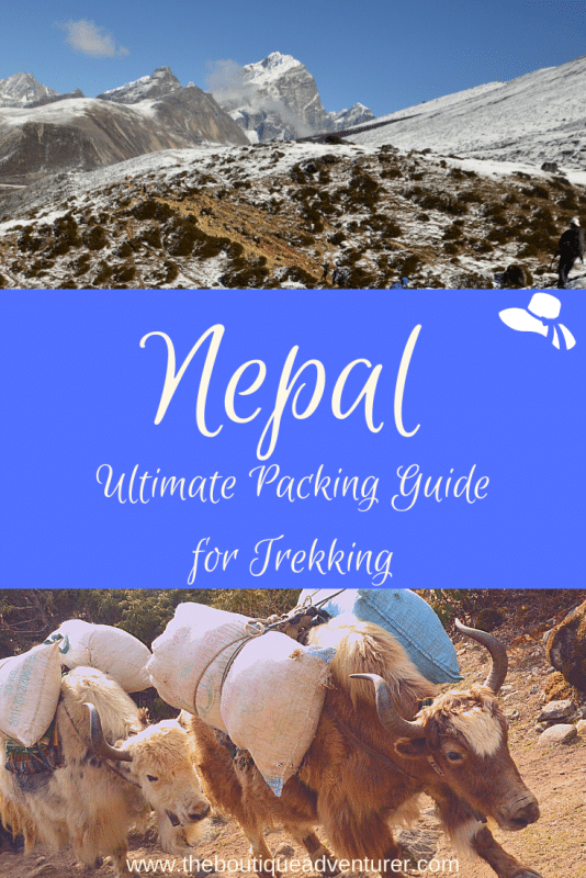 images from trek to everest base camp