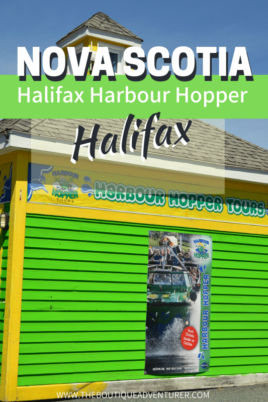 check in office for the halifax harbour hopper