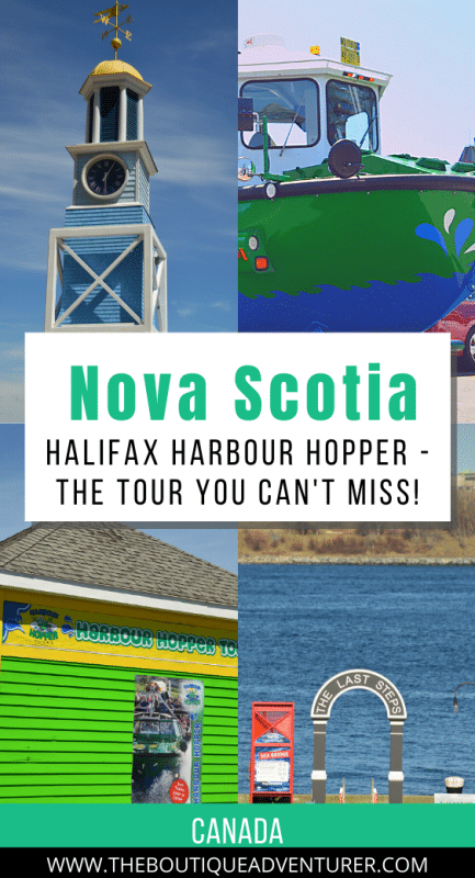 images of Halifax nova scotia and the harbour hopper halifax