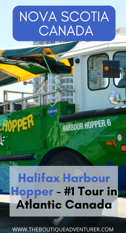 halifax harbour hopper boat