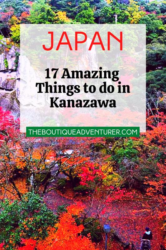 natadera temple kanazawa japan in october