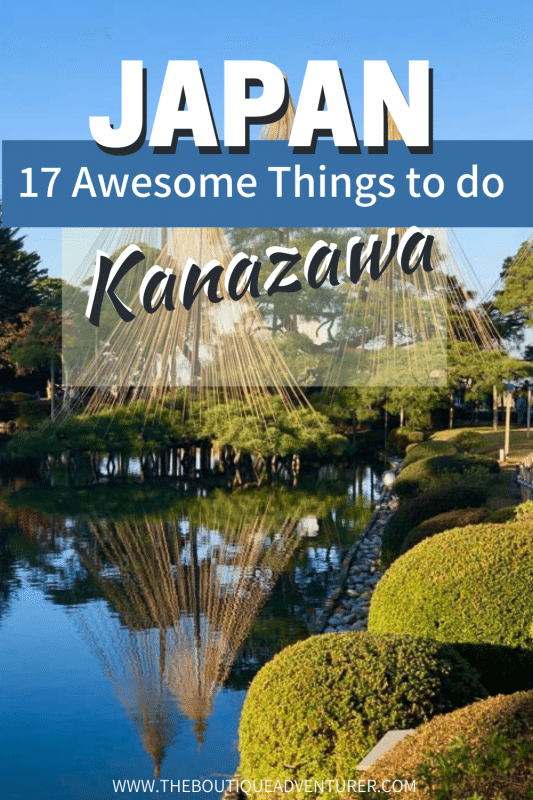 image of kenrouken gardens kanazawa japan