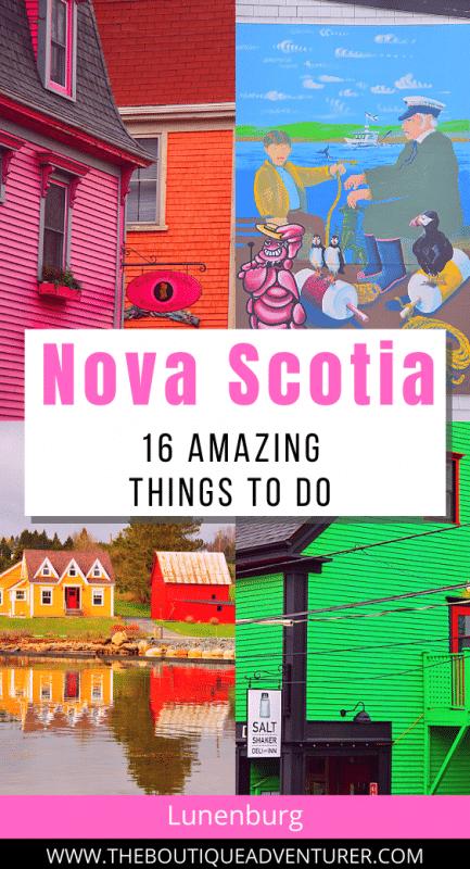images from Lunenburg Nova Scotia Canada