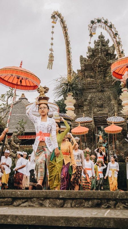 parade in bali