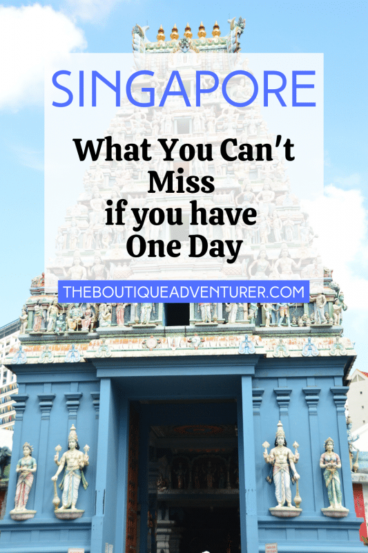 colourful temple in singapore