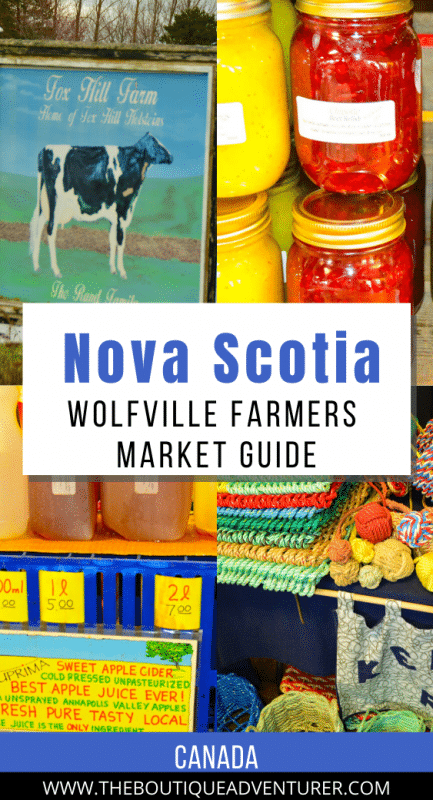 various images from wolfville farmers market nova scotia canada